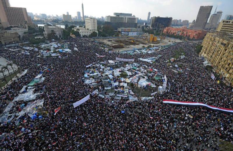 Египтяне объединяются для «миллионного марша», чтобы сместить Мубарака