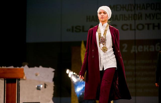 Мусульманский хиджаб от кутюр