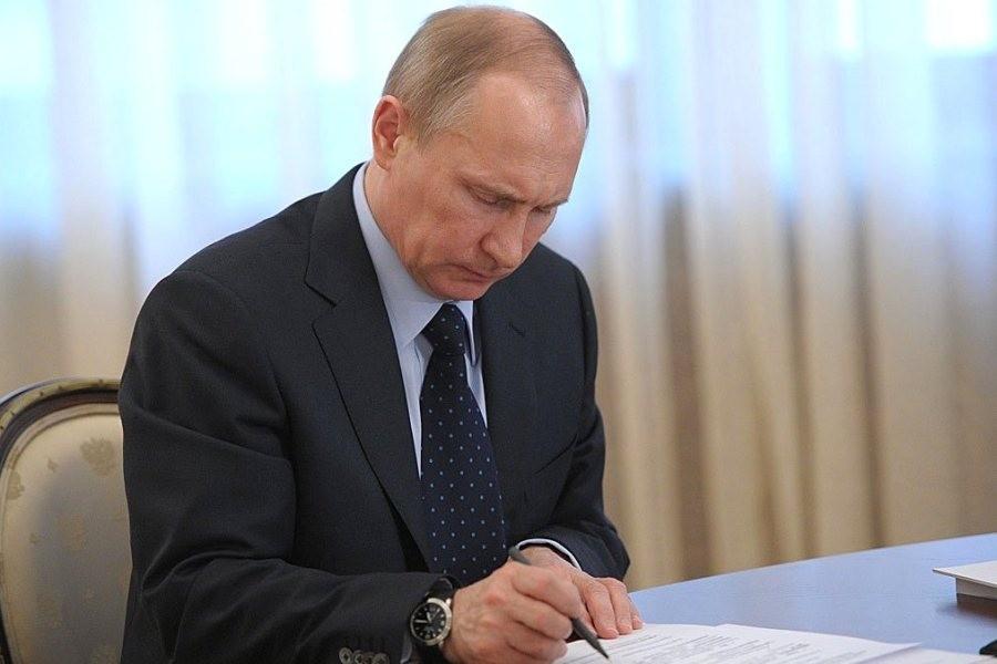 Владимир Путин и духовенство