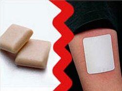 Никотиновые жвачки и пластыри неэффективны