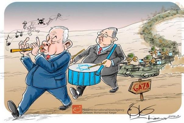 Карикатурой по Израилю