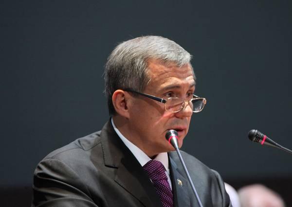 Выступление Президента РТ на Съезде ВКТ