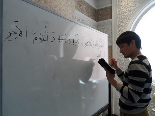 Где учат слабослышащих Корану?