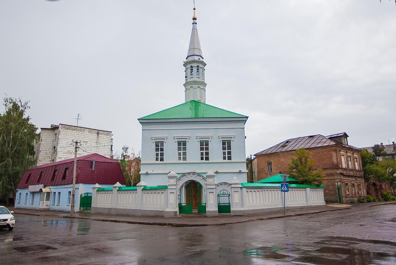 Татарские мечети: Голубая мечеть