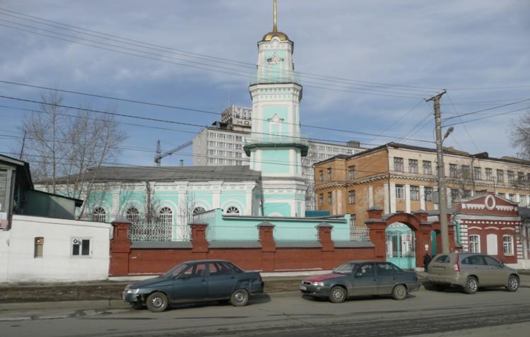 Татарские мечети: Челябинская соборная мечеть («Ак мечеть») / Инфо ...