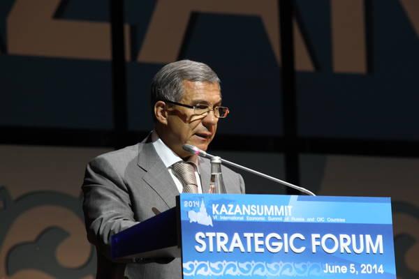 Kazansummit демонстрирует общение с исламским миром