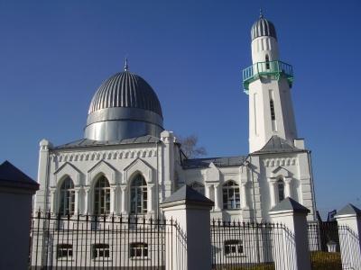 Татарские мечети: Ак мечеть или Вторая соборная (город Томск)