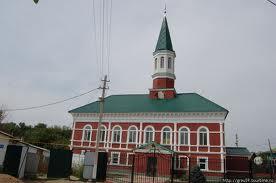 Татарские мечети: Красная мечеть (Уральск, Казахстан)