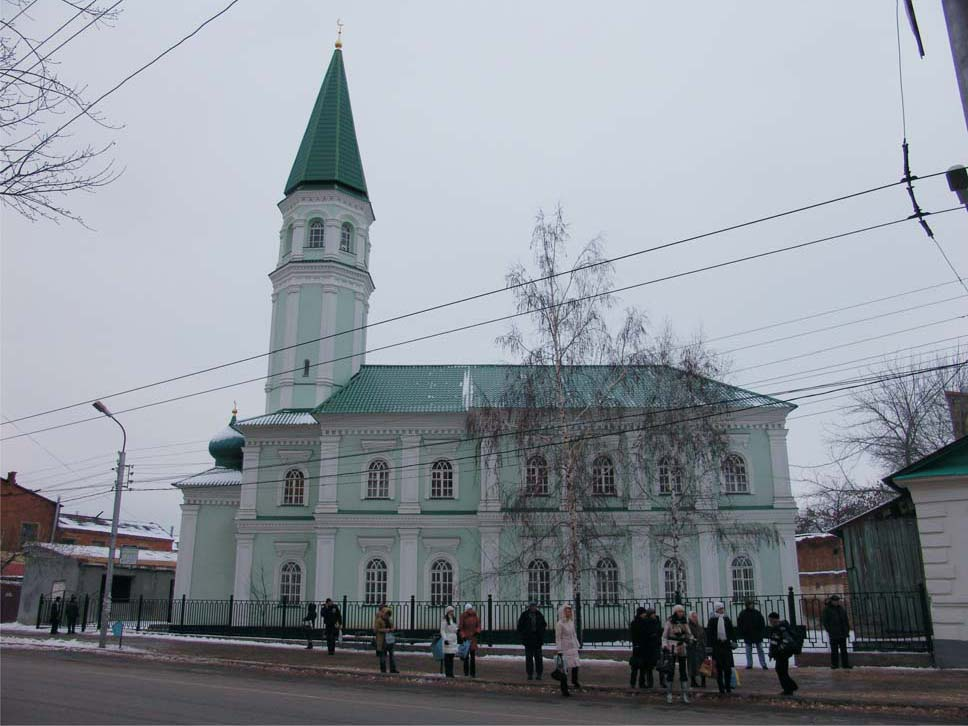 Татарские мечети: мечеть Хусания (Оренбург)