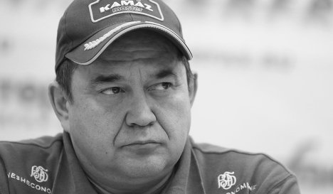 Погиб пилот команды «КАМАЗ-Мастер» Ильгизар Мардеев
