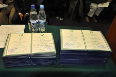 В Уфе выпускники Российского исламского университета получили дипломы