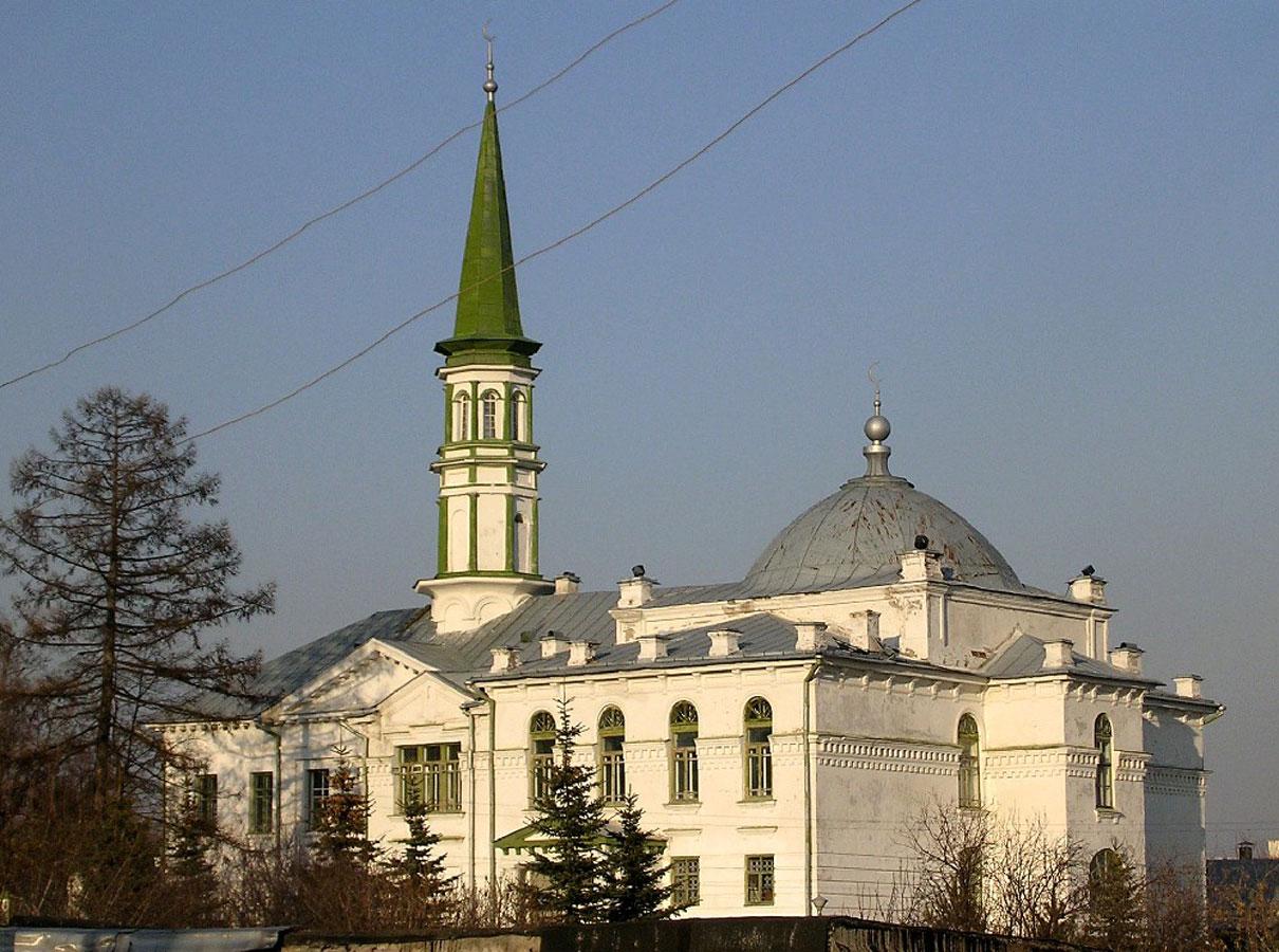 Татарские мечети: первая соборная мечеть Уфы