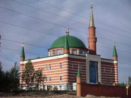 Новые татарские мечети: крупнейшая мечеть Тюменской области (город Ноябрьск)