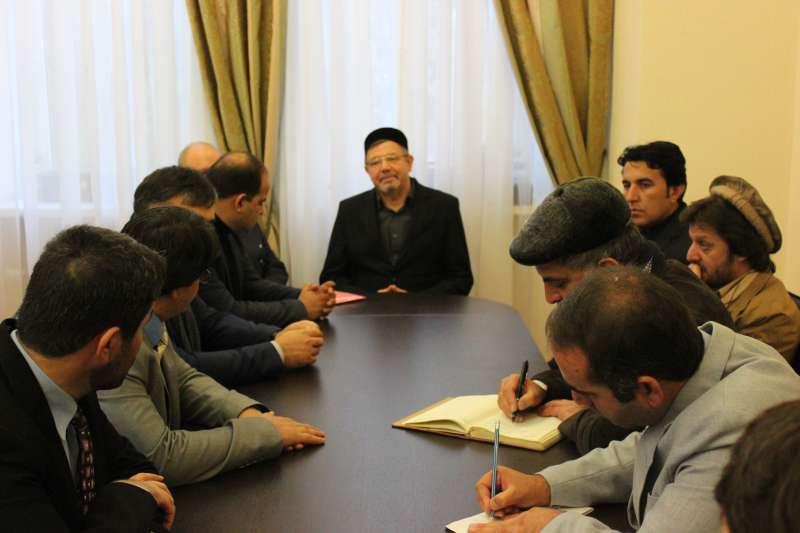 РИИ посетили представители медиасообщества Афганистана