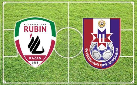 «Рубин» разгромил «Мордовию» со счетом 5:0