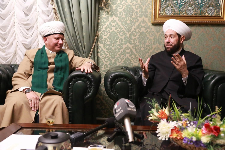 Альбир Крганов провел встречу с муфтием Сирии