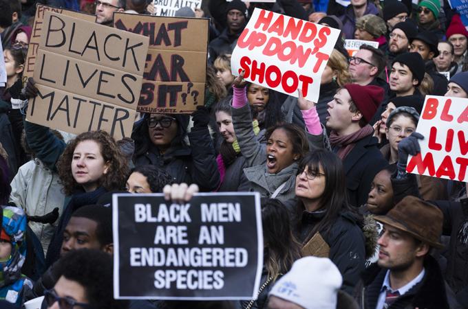 Анти-расистские протесты в США