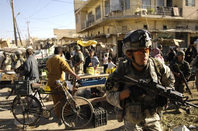 Ирак возмущён поведением США
