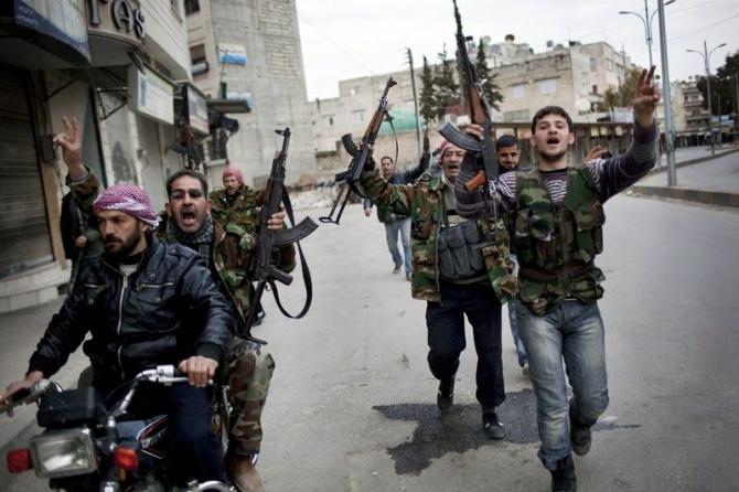 Бойцы Свободной сирийской армии примкнули к «исламскому государству»