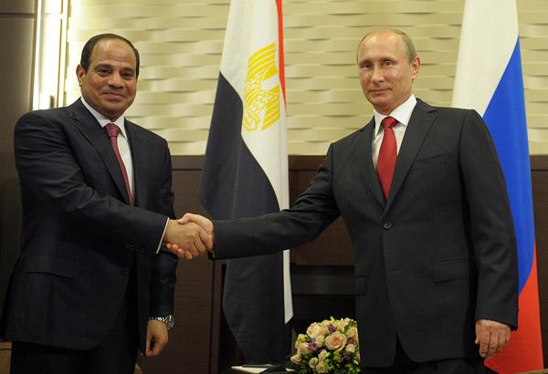 Путин: «Египет – давний и надёжный партнёр России»