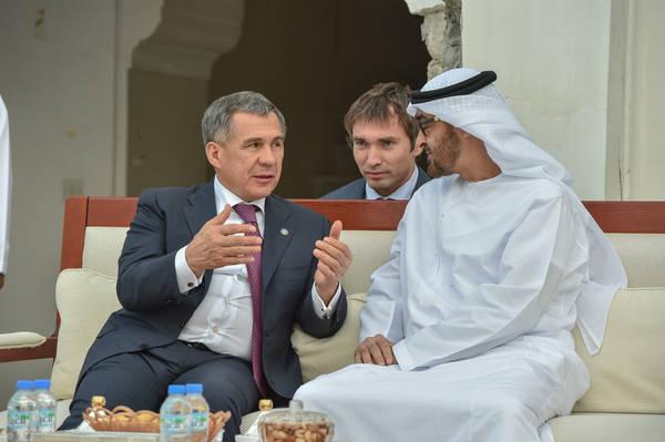 Рустам Минниханов встретился с министром иностранных дел ОАЭ