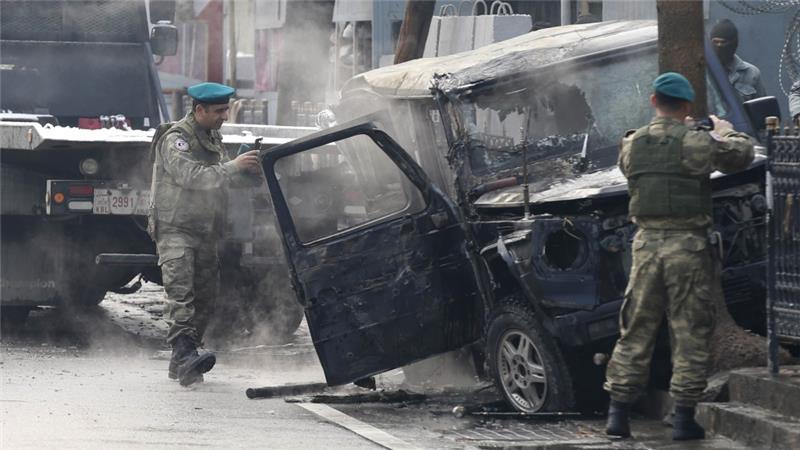 Террорист-смертник напал на посольство Турции в Афганистане