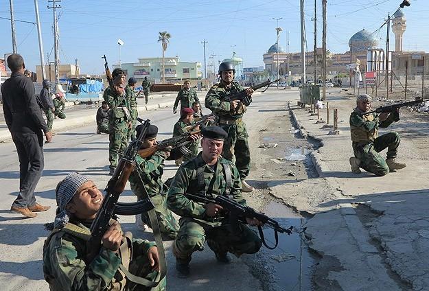 Иракская армия близка к освобождению Тикрита