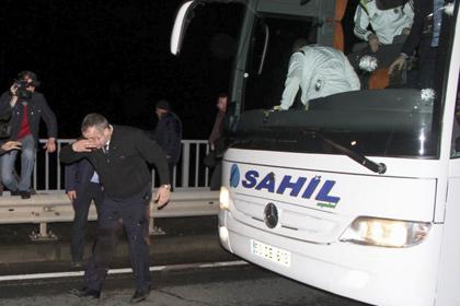Чемпионат Турции приостановлен из-за обстрела автобуса «Фенербахче»