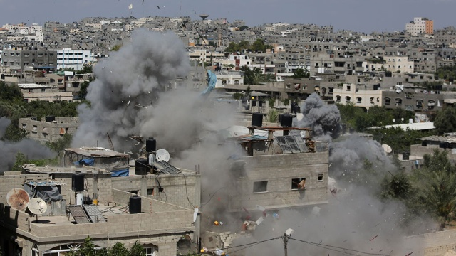 Израиль ударил по позициям ХАМАС
