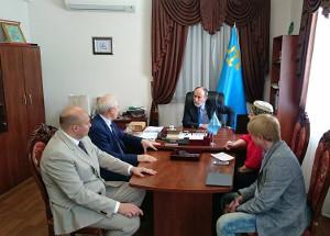 Делегация из Казани посетила Муфтият Крыма