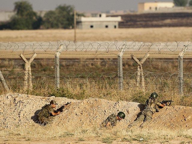 Турецкая армия готовится к вторжению в Сирию