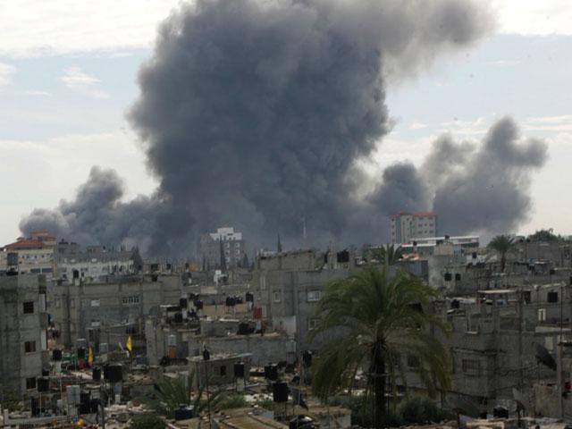 Израиль вновь бомбит Сектор Газа