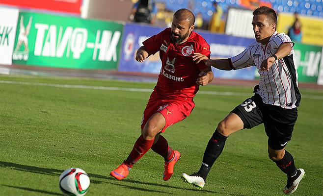 «Рубин» уступил в первом домашнем матче сезона «Амкару»