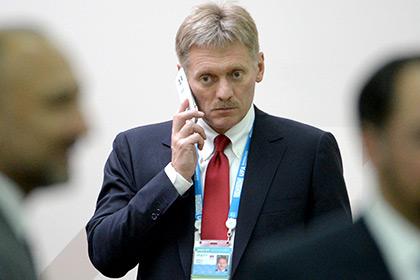 Дмитрий Песков опроверг сообщения о появлении российских ВВС в Сирии