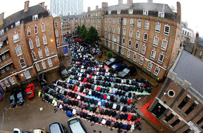 В Лондоне растет число преступлений против мусульман