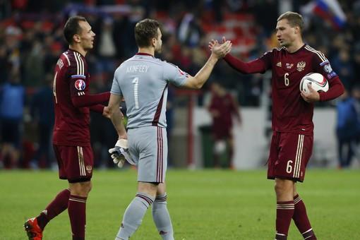 Сборная России по футболу вышла в Евро-2016