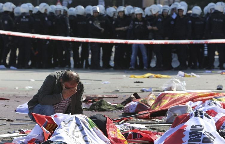 Атака на Турцию: 86 погибших, 200 пострадавших