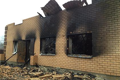 СМИ: под Тулой сожгли мусульманский молельный дом