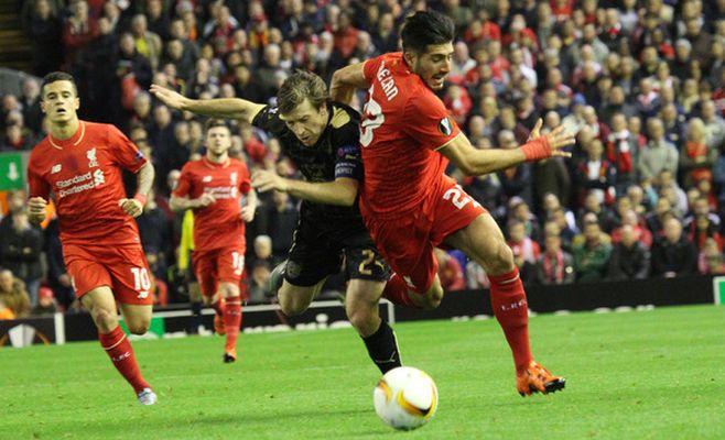 «Рубин» в меньшинстве выстоял в матче против «Ливерпуля»