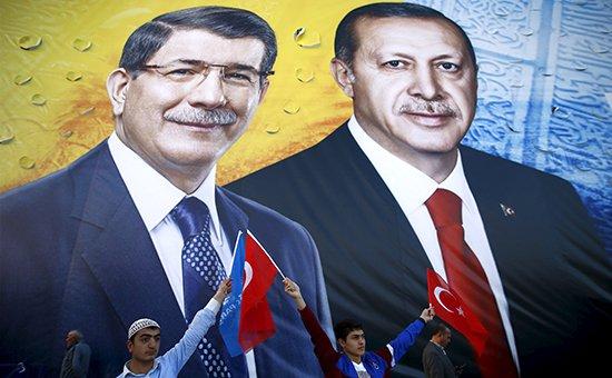 Партия Эрдогана побеждает