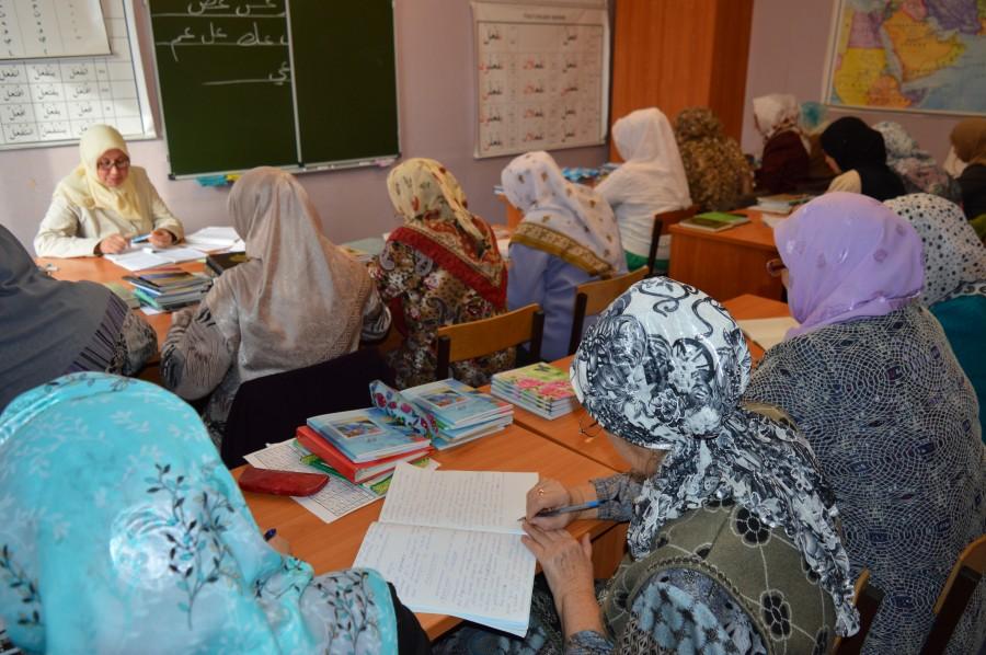 В медресе «Фанис» повышали квалификацию  преподаватели примечетских курс