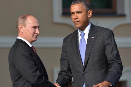 В Кремле рассказали, о чем разговаривали Путин и Обама в Париже