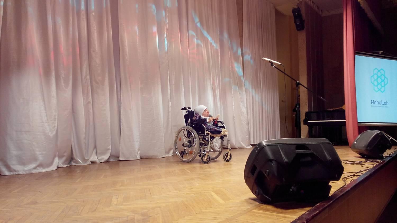 Лилия Салахутдинова продекламировала свои стихи на гала- концерте