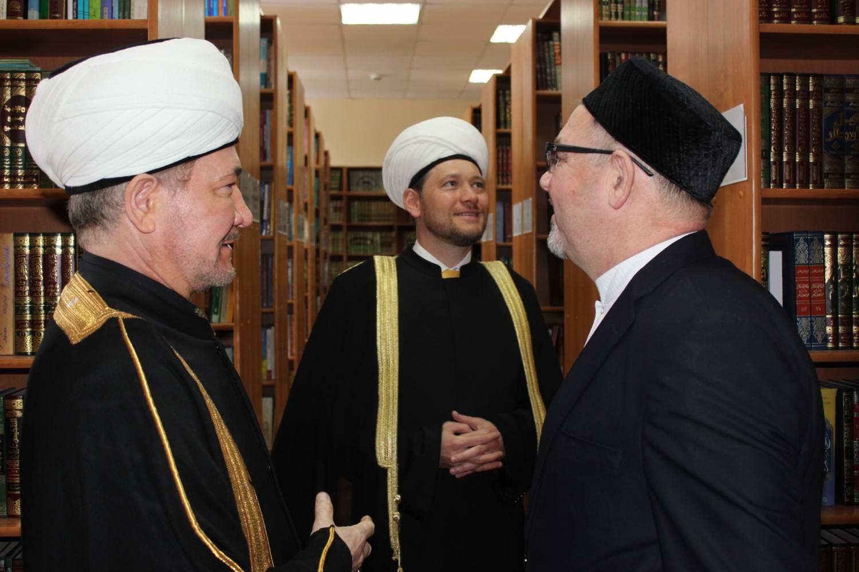 Муфтий Равиль Гайнутдин в Казани