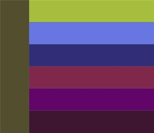 Сочетание оливкового цвета