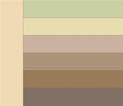 Сочетание светло-коричневого