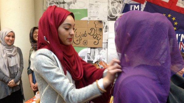 День хиджаба во Франции