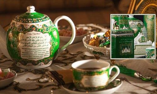 Посуда в восточном стиле к Рамадану