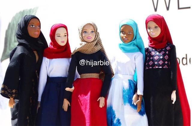 Коллекция мусульманских кукол на Рамадан