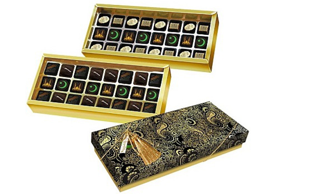 Мусульманские подарочные конфеты